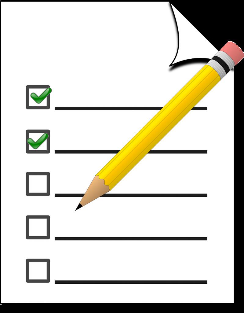 checklist, check, marketing